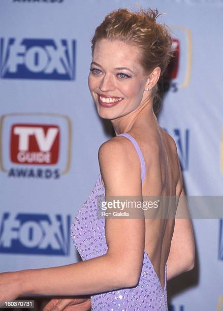 Actress Jeri Ryan attends the First Annual TV Guide Awards on February 1 1999 at 20th Century Fox Studios in Century City California