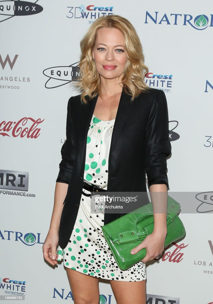Actress Jeri Ryan attends the 'Gold Meets Golden' event on January 12, 2013 in Los Angeles, California.