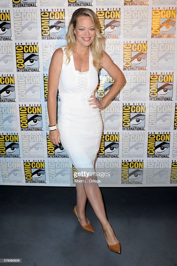 Actress Jeri Ryan attends the 'Star Trek' panel during Comic-Con International 2016 at San Diego Convention Center on July 23, 2016 in San Diego, California.