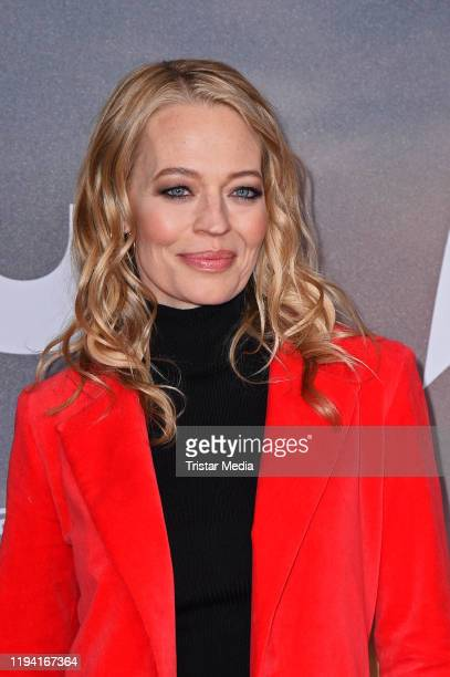 US actress Jeri Ryan attends the Star Trek Picard fan screening at Zoo Palast on January 17 2020 in Berlin Germany