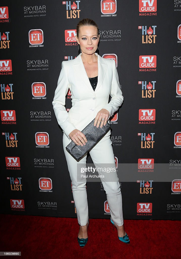 Actress Jeri Ryan attends the TV Guide Magazine Hot List Party at SkyBar at the Mondrian Los Angeles on November 12, 2012 in West Hollywood, California.