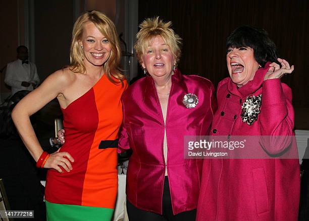 Actress Jeri Ryan BBBSLA Guild president Mary Willard and actress Jo Anne Worley attend Big Brothers Big Sisters of Greater Los Angeles presents...