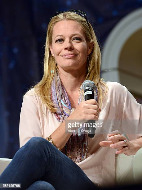 Actress Jeri Ryan on day 5 of Creation Entertainment's Official Star Trek 50th Anniversary Convention the Rio Hotel Casino on August 7 2016 in Las...