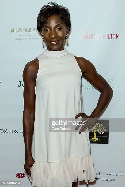 Actress Jeryl Prescott arrives for the 42nd Annual Maple Ball at The Montage Hotel on October 26 2016 in Beverly Hills California