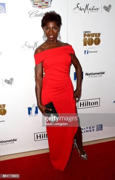 Actress Jeryl Prescott attends Ebony Magazine's Ebony's Power 100 Gala at The Beverly Hilton Hotel on December 1 2017 in Beverly Hills California