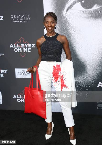 Actress Jeryl Prescott attends the premiere of Lionsgate's 'All Eyez On Me' on June 14 2017 in Los Angeles California