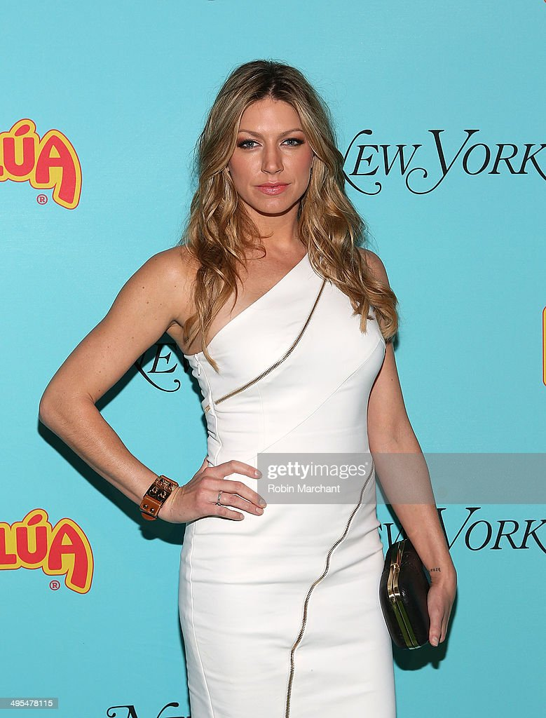Actress Jes Macallan attends Summer Shake-Up Movie Blend Series at Intrepid Sea-Air-Space Museum on June 3, 2014 in New York City.