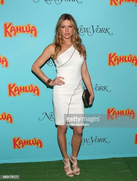 Actress Jes Macallan attends Summer ShakeUp Movie Blend Series at Intrepid SeaAirSpace Museum on June 3 2014 in New York City