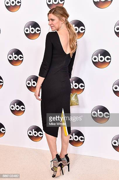 Actress Jes Macallan attends the Disney ABC Television Group TCA Summer Press Tour on August 4 2016 in Beverly Hills California