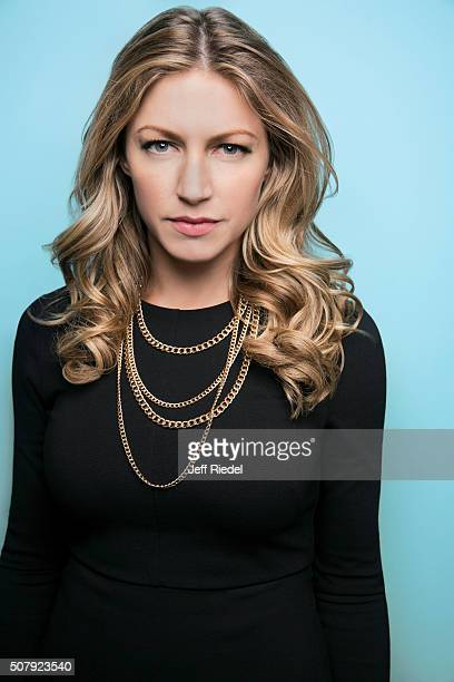 Actress Jes Macallan is photographed for TV Guide Magazine on January 14 2015 in Pasadena California