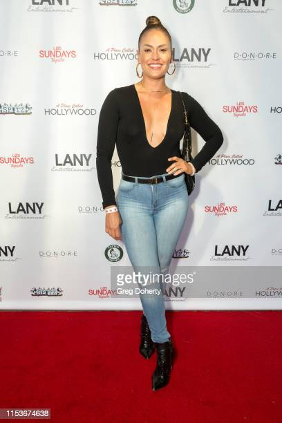 Actress Jes Meza attends an FYC Event A Place Called Hollywood at TCL Chinese 6 Theatres on June 03 2019 in Hollywood California