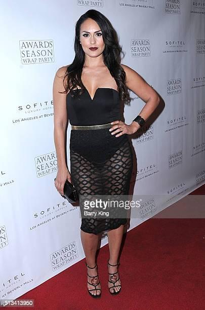 Actress Jes Meza attends Sofitel Los Angeles At Beverly Hills 2016 Award Season Wrap Party at Sofitel Los Angeles on March 2 2016 in Los Angeles...