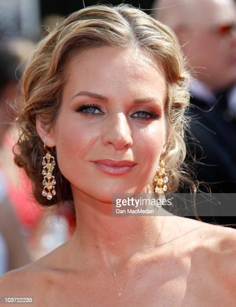 Actress Jesalyn Gilsig attends the 62nd Annual Primetime Emmy Awards at Nokia Theatre Live LA on August 29 2010 in Los Angeles California