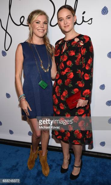 Actress Jess Weixler and designer Tyler Ellis arrives at Tyler Ellis Celebrates 5th Anniversary And Launch Of Tyler Ellis x Petra Flannery Collection...
