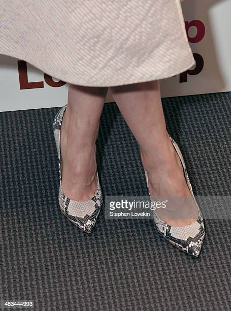 Actress Jess Weixler attends IFC Films' 'Hateship Loveship' screening hosted by The Cinema Society and Montblanc at the Museum of Modern Art on April...