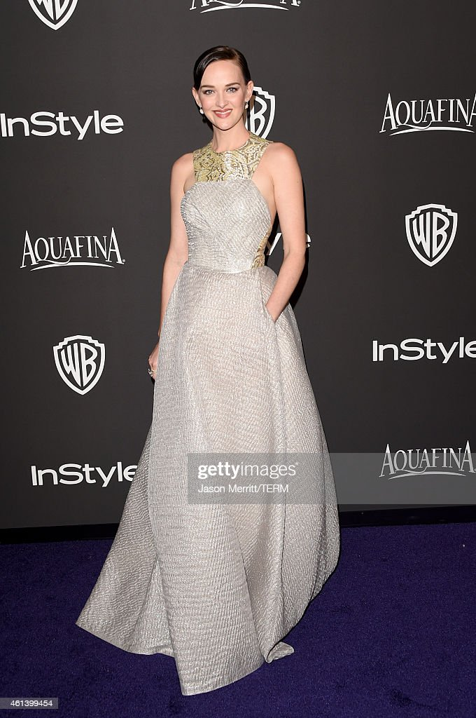 Actress Jess Weixler attends the 2015 InStyle And Warner Bros. 72nd Annual Golden Globe Awards Post-Party at The Beverly Hilton Hotel on January 11, 2015 in Beverly Hills, California.
