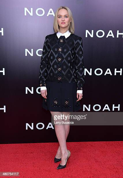 Actress Jess Weixler attends the New York premiere of Paramount Pictures' 'Noah' at the Ziegfeld Theatre on March 26 2014 in New York City