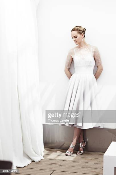 Actress Jess Weixler is photographed for Self Assignment in Cannes, France.