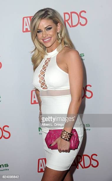 Actress Jessa Rhodes arrives for the 2017 AVN Awards Nomination Party held at Avalon on November 17, 2016 in Hollywood, California.