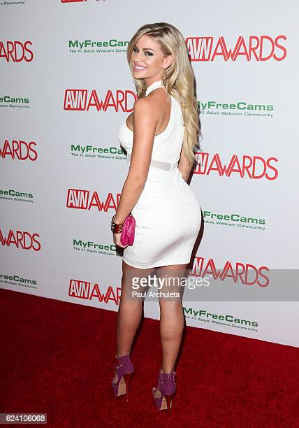 Actress Jessa Rhodes attends the 2017 AVN Awards nomination party at Avalon on November 17, 2016 in Hollywood, California.
