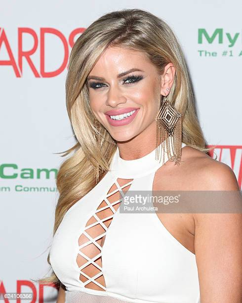 Actress Jessa Rhodes attends the 2017 AVN Awards nomination party at Avalon on November 17 2016 in Hollywood California