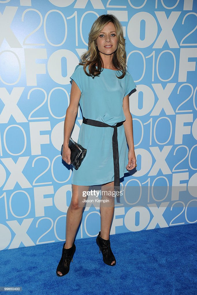 Actress Jessalyn Gilsig attends the 2010 FOX Upfront after party at Wollman Rink, Central Park on May 17, 2010 in New York City.