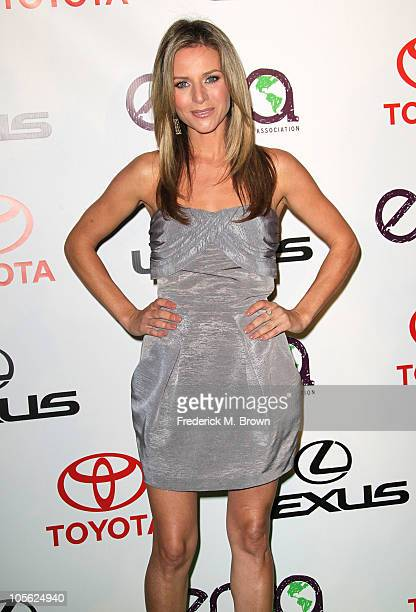 Actress Jessalyn Gilsig attends the 20th annual Enviornmental Media Association Awards at Warner Brothers Studios on October 16 2010 in Burbank...