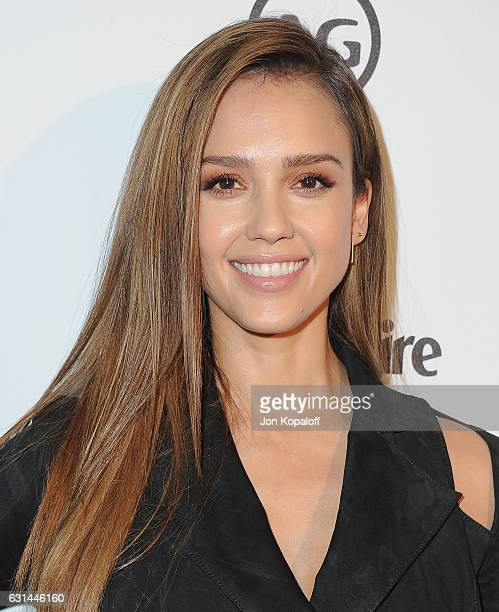 Actress Jessica Alba arrives at Marie Claire's Image Maker Awards 2017 at Catch LA on January 10 2017 in West Hollywood California