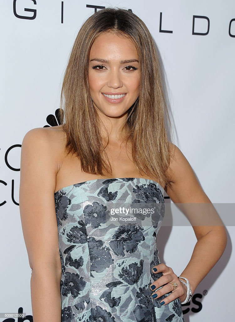 Actress Jessica Alba arrives at the 2015 March Of Dimes Celebration Of Babies at the Beverly Wilshire Four Seasons Hotel on December 4, 2015 in Beverly Hills, California.