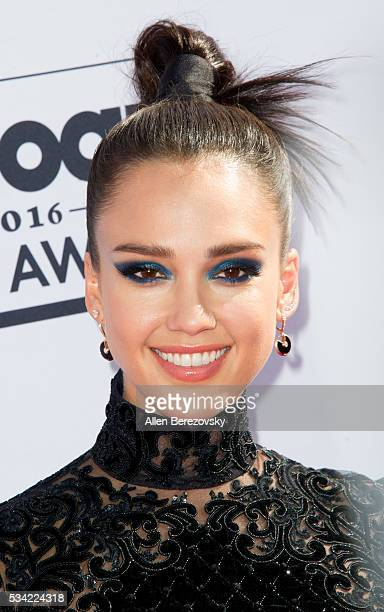 Actress Jessica Alba arrives at the 2016 Billboard Music Awards at TMobile Arena on May 22 2016 in Las Vegas Nevada