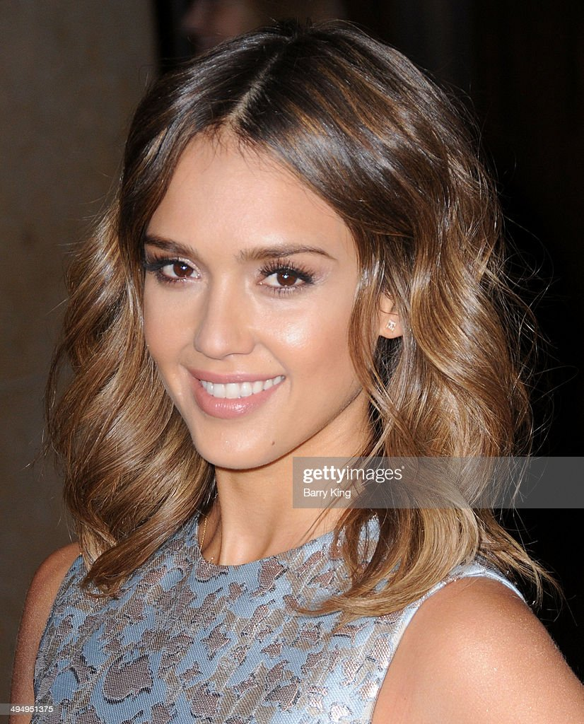 Actress Jessica Alba arrives at The Helping Hand Of Los Angeles Mother's Day Luncheon on May 9, 2014 at The Beverly Hilton Hotel in Beverly Hills, California.