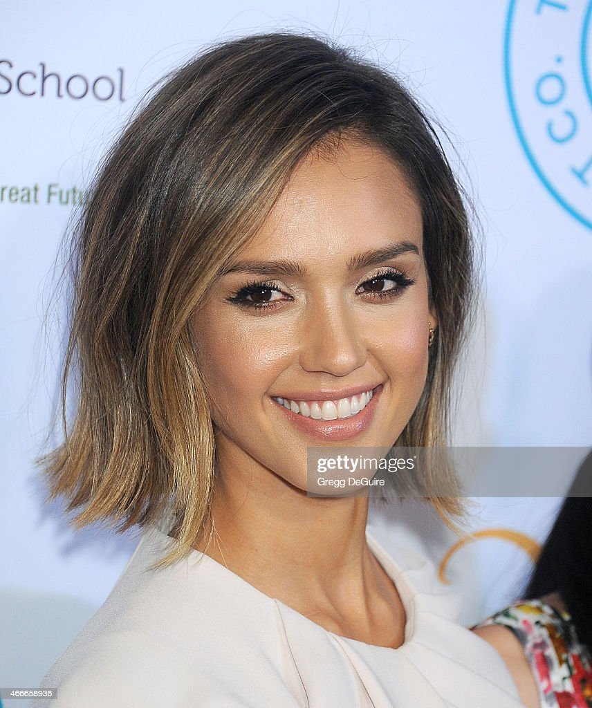 Actress Jessica Alba arrives at The Independent School Alliance For Minority Affairs Impact Awards Dinner at Four Seasons Hotel Los Angeles at Beverly Hills on March 17, 2015 in Los Angeles, California.
