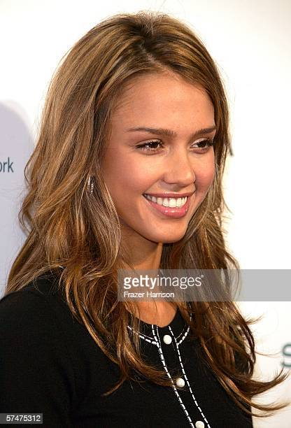 Actress Jessica Alba arrives at the Step Up Women's Network 3rd Annual Inspiration Awards held at the Beverly Hilton Hotel on April 27 2006 in...