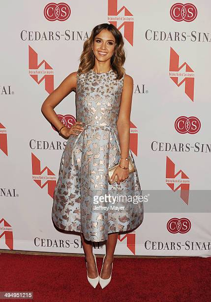 Actress Jessica Alba arrives at the The Helping Hand Of Los Angeles Mother's Day Luncheon at The Beverly Hilton Hotel on May 9, 2014 in Beverly...