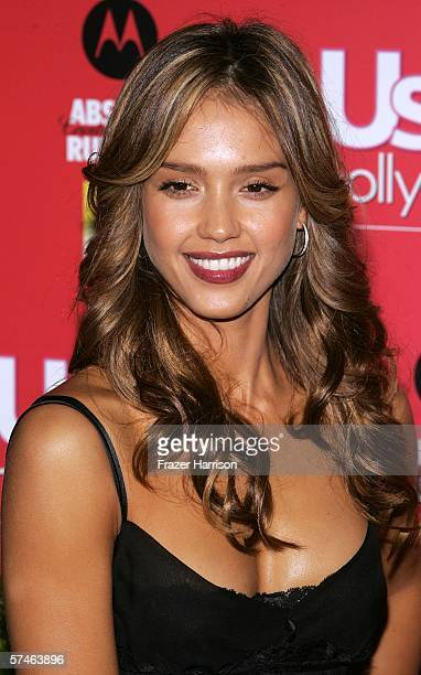 Actress Jessica Alba arrives at the US Weekly Hot Hollywood Awards party held at the Republic restaurant and lounge on April 26 in West Hollywood...