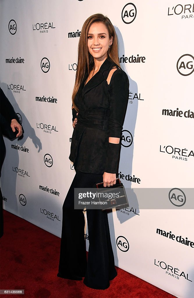 Actress Jessica Alba attends Marie Claire's Image Maker Awards 2017 at Catch LA on January 10, 2017 in West Hollywood, California.