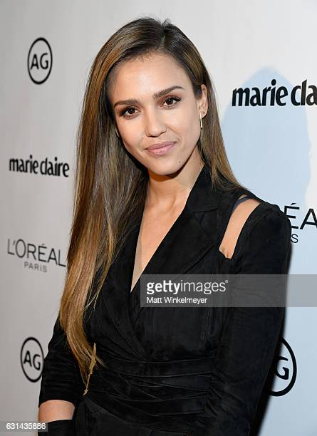 Actress Jessica Alba attends Marie Claire's Image Maker Awards 2017 at Catch LA on January 10 2017 in West Hollywood California