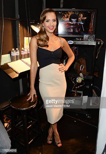 Actress Jessica Alba attends Spike TV's Guys Choice 2013 at Sony Pictures Studios on June 8 2013 in Culver City California