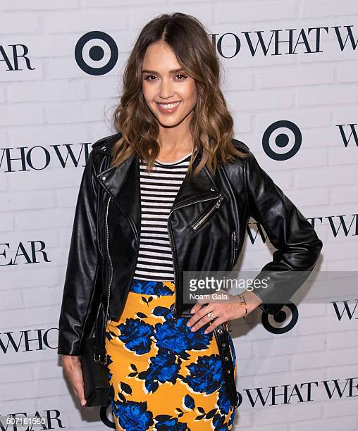 ed3d453638 Actress Jessica Alba attends Target x Who What Wear launch party at ArtBeam  on January 27