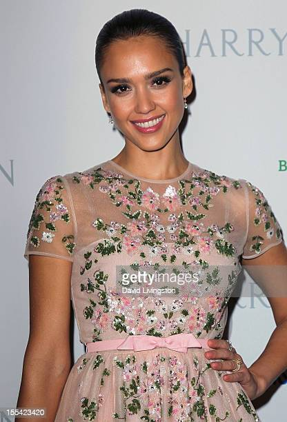 Actress Jessica Alba attends the 1st Annual Baby2Baby Gala at The BookBindery on November 3 2012 in Culver City California