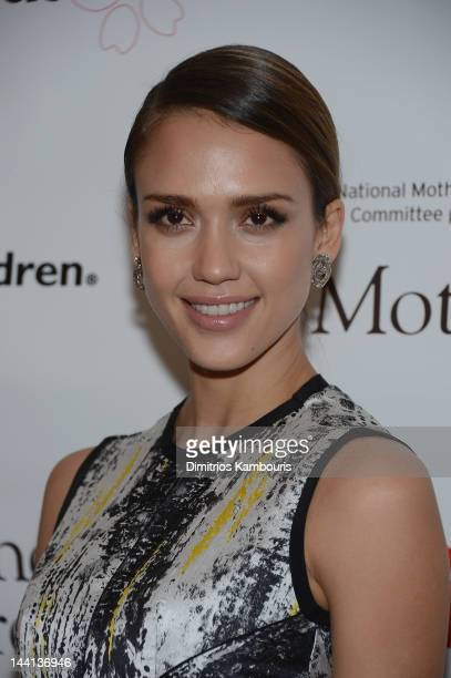 Actress Jessica Alba attends the 2012 Outstanding Mother Awards at The Pierre Hotel on May 10, 2012 in New York City.
