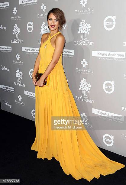 Actress Jessica Alba attends the 2015 Baby2Baby Gala at 3LABS on November 14 2015 in Culver City California