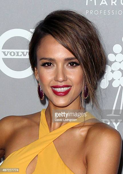 Actress Jessica Alba attends the 2015 Baby2Baby Gala presented by MarulaOil Kayne Capital Advisors Foundation honoring Kerry Washington at 3LABS on...