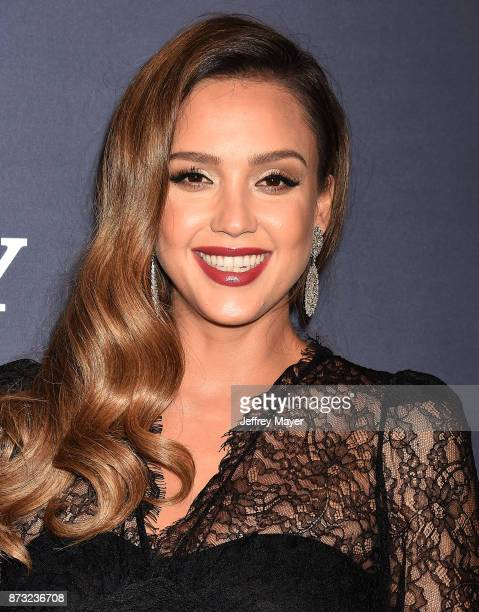 Actress Jessica Alba attends the 2017 Baby2Baby Gala at 3Labs on November 11 2017 in Culver City California