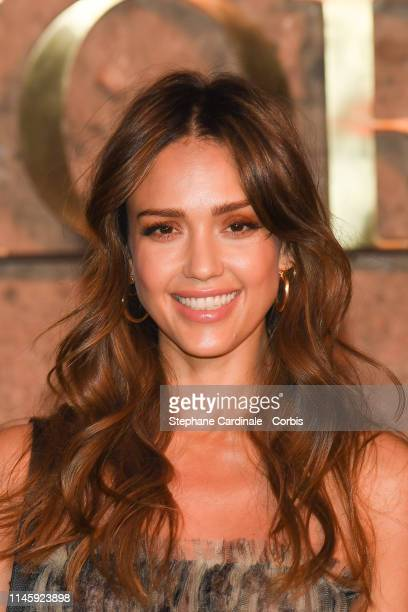 Actress Jessica Alba attends the Christian Dior Couture S/S20 Cruise Collection on April 29, 2019 in Marrakech, Morocco.