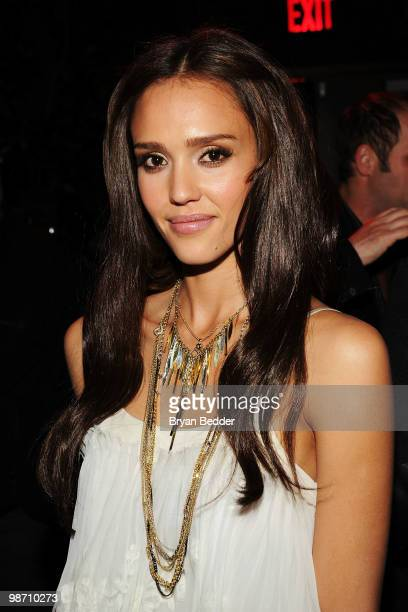 Actress Jessica Alba attends The Killer Inside Me after party during the 2010 Tribeca Film Festival at Avenue on April 27 2010 in New York City