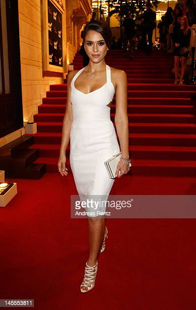 Actress Jessica Alba attends the Montblanc international gala to celebrate the official opening of its new and biggest concept store in the world at...