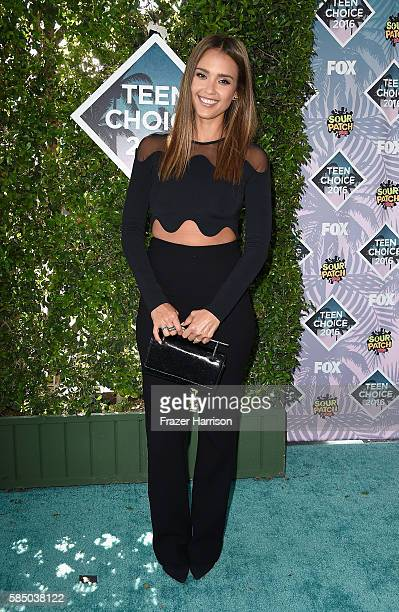 Actress Jessica Alba attends the Teen Choice Awards 2016 at The Forum on July 31 2016 in Inglewood California