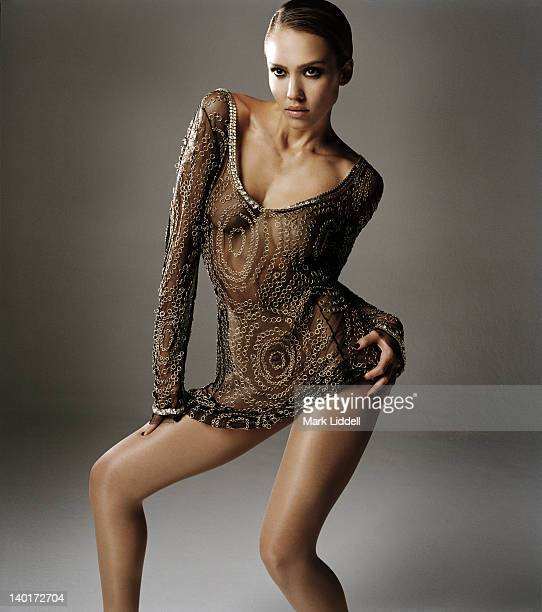 Actress Jessica Alba is photographed for Cover Magazine Hong Kong on April 1 2006 in Los Angeles California