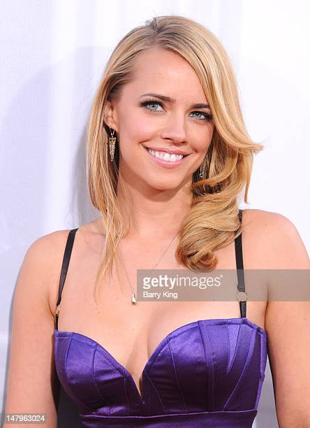 Actress Jessica Barth arrives at the Los Angeles Premiere 'Ted' at Grauman's Chinese Theatre on June 21 2012 in Hollywood California